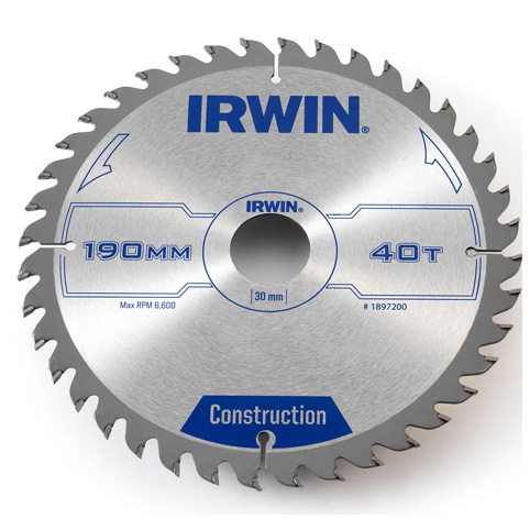 Диск пильный IRWIN IR OPP F230mmT40F30/20,16 рулетка 8 м opp irwin 10507786