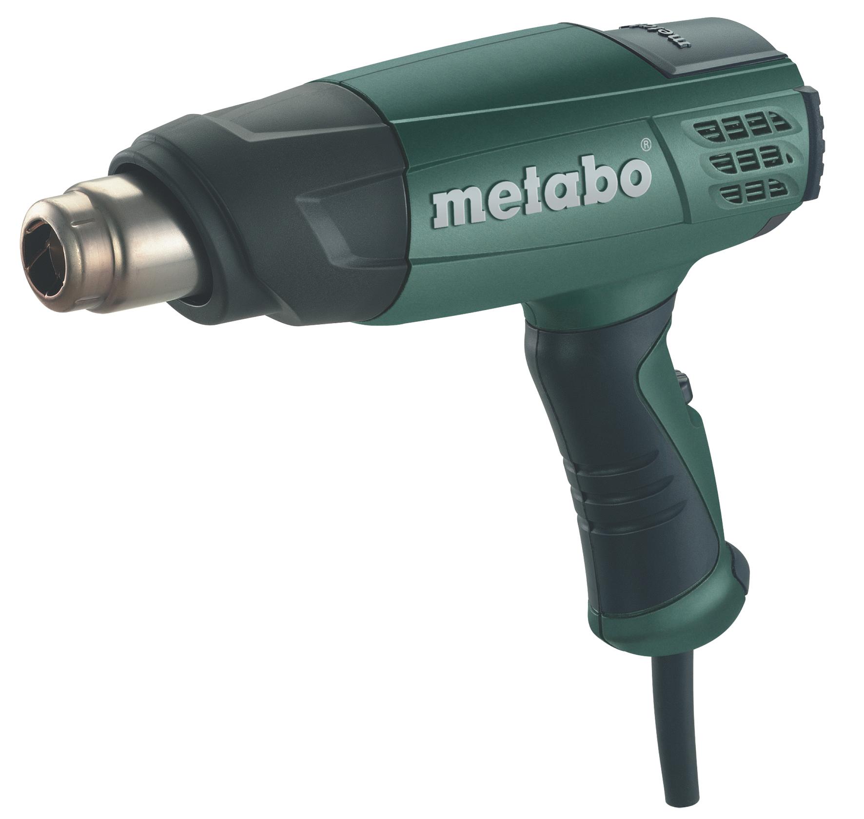 Строительный фен Metabo H 16-500  строительный фен metabo he 20 600