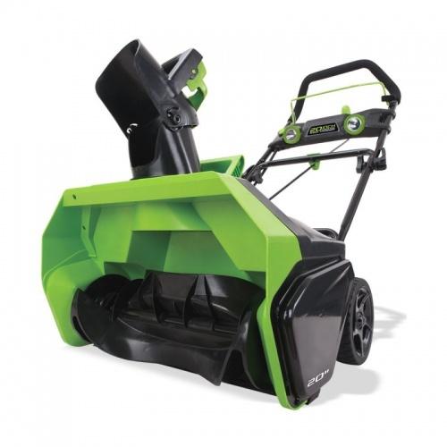 Снегоочиститель GreenWorks 40V