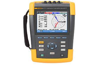 Анализатор качества и электроэнергии Fluke 437 II  кабель регистратора электроэнергии fluke 1730 cable