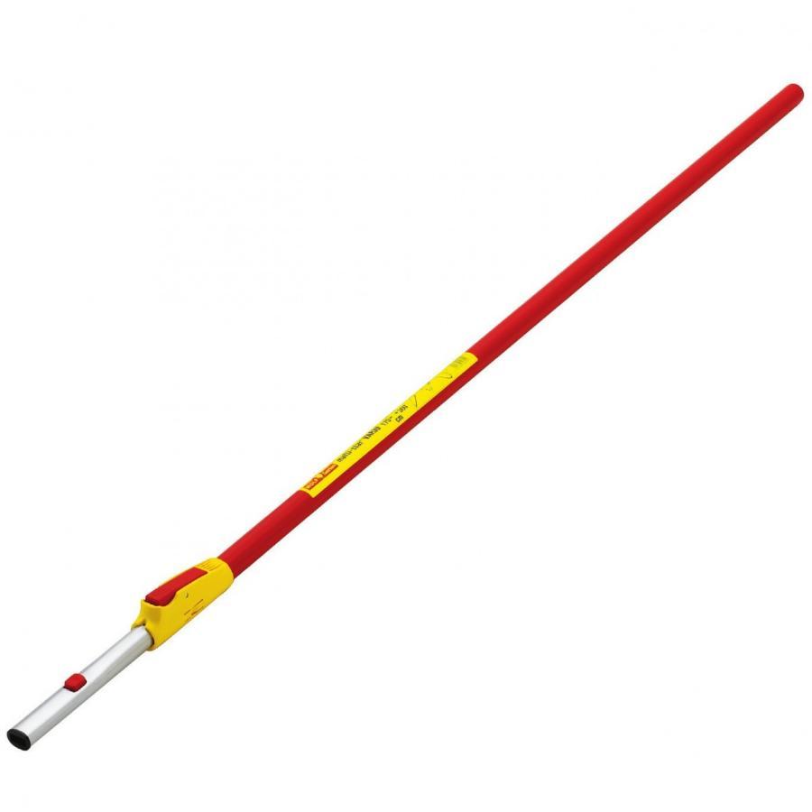 Ручка телескопическая 220-400см Wolf-Garten ZM-V4 лопата wolf garten зимняя пластиковая 42см sn m 42 zm ad120