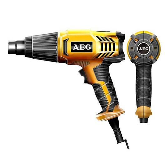 Строительный фен AEG HG 600 V  ручной строительный фен weldy energy 3400 набор 127 639