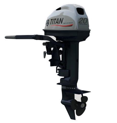 Лодочный мотор 4-х тактный TITAN FTP20AMHS подвесной лодочный мотор б у купить в петербурге