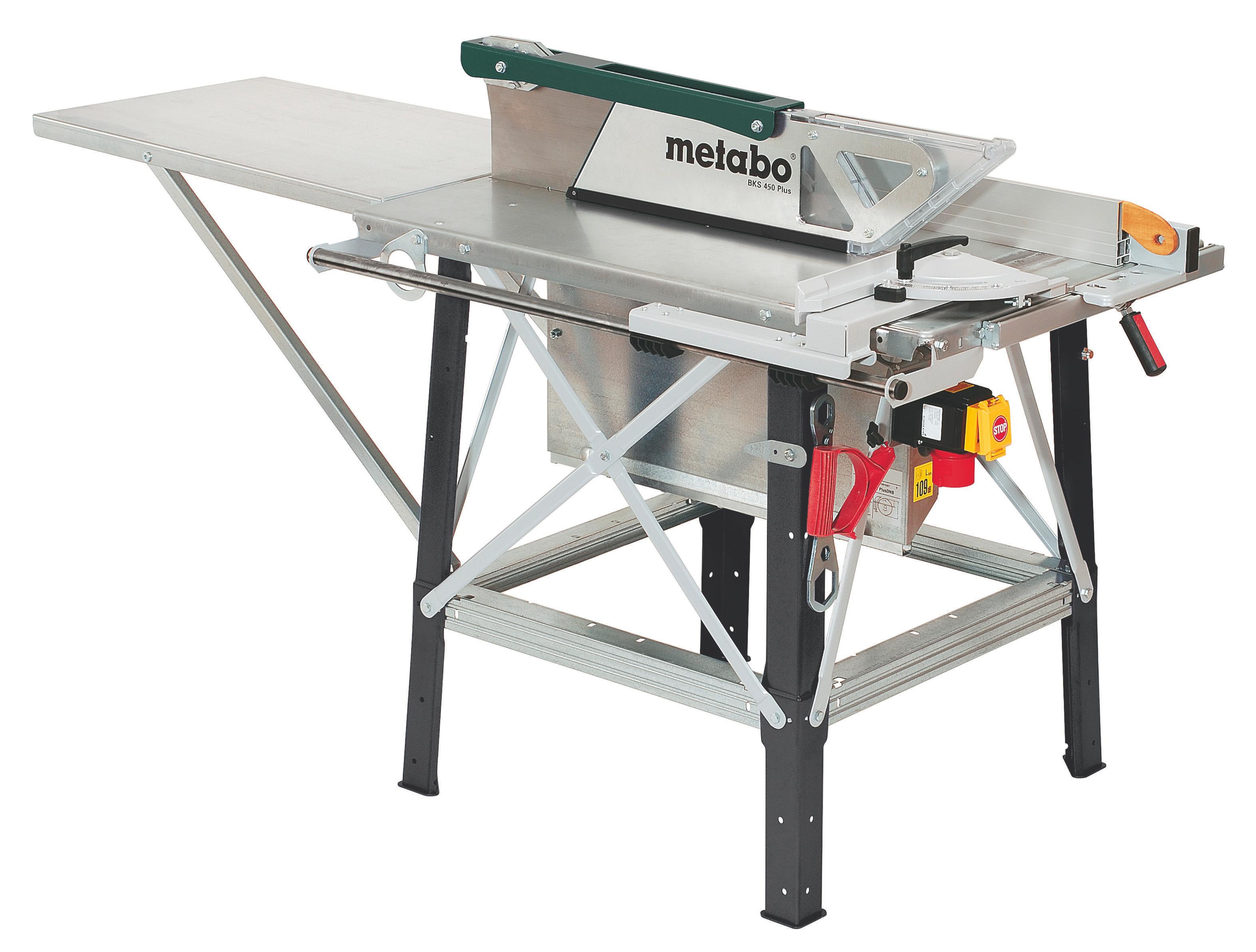 Пила циркулярная настольная Metabo BKS 450 Plus - 5,5 DNB  цены