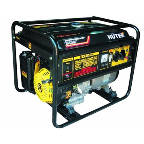 Подробнее о Генератор бензиновый Huter DY5000L huter электрогенератор dy5000l