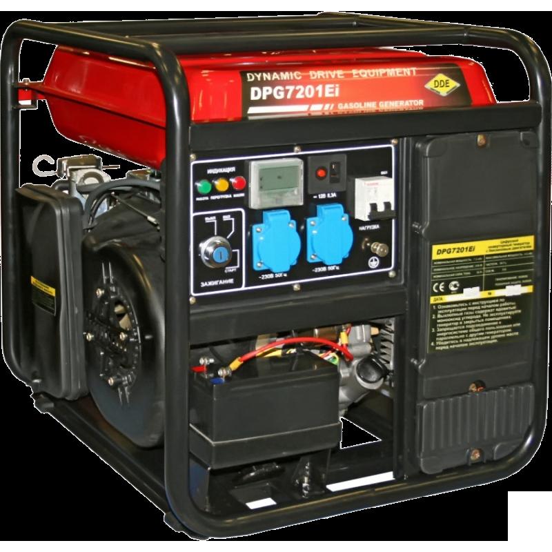 Инверторный генератор DDE DPG7201Ei  цены