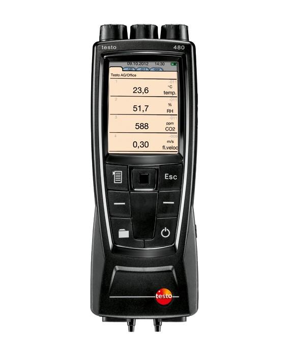 Подробнее о Многофункциональный измерительный прибор testo 480 измерительный прибор