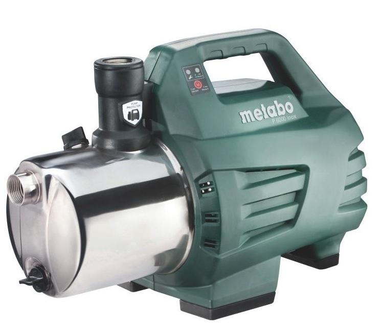 Поверхностный насос Metabo P 6000 Inox  поверхностный насос metabo p 2000 g