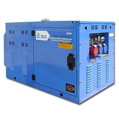 Дизельный генератор  трехфазный ТСС SDG 10000ES3  дизельный генератор трехфазный тсс sdg 5000eн3