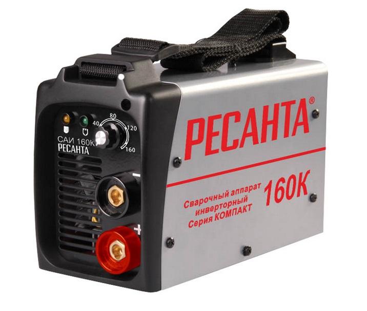 Сварочный аппарат инверторный Ресанта САИ 160К (компакт) сварочный аппарат инвертор ресанта саи 160 [саи 160]
