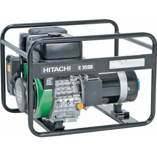Генератор бензиновый Hitachi E35 SB  генератор бензиновый hitachi e35