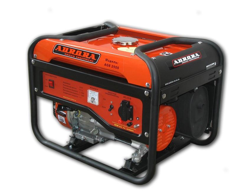 цены  Бензогенератор Aurora AGE 2500