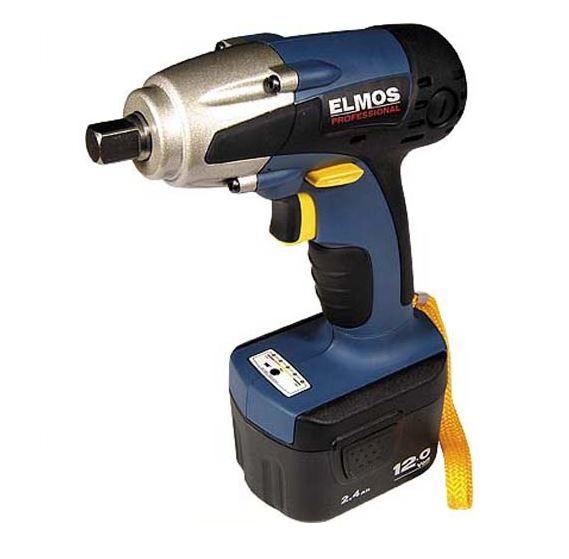 Аккумуляторный ударный винтоверт ELMOS CID 220, 12V 2x1,5Ah  винтоверт ударный аккумуляторный makita dtd147rfe