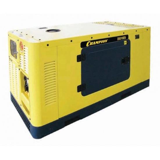 Подробнее о Генератор дизельный Champion DG15ES дизельный генератор