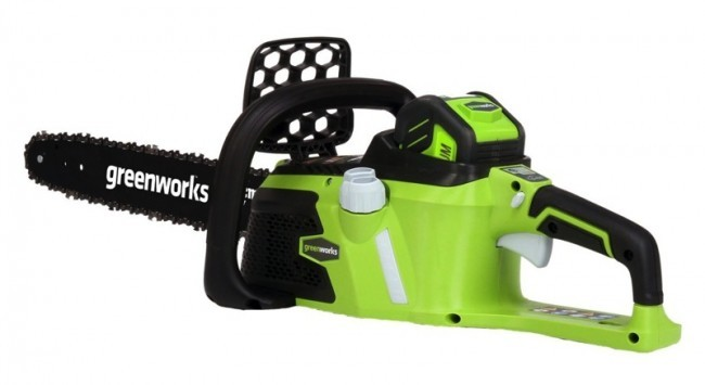 Аккумуляторная пила GreenWorks GD80CS50  аккумуляторная пила greenworks g24csk2