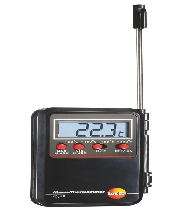 Минитермометр Testo с проникающим зондом и сигналом тревоги  минитермометр testo 905 t1