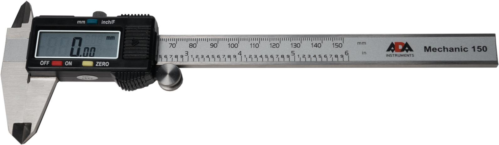 Подробнее о Цифровой штангенциркуль ADA Mechanic 150 цифровой штангенциркуль