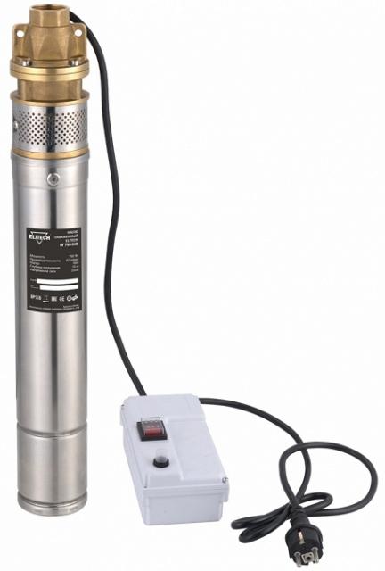Погружной скважинный насос ELITECH НГ 750-50В  погружной скважинный насос elitech нг 750 50в