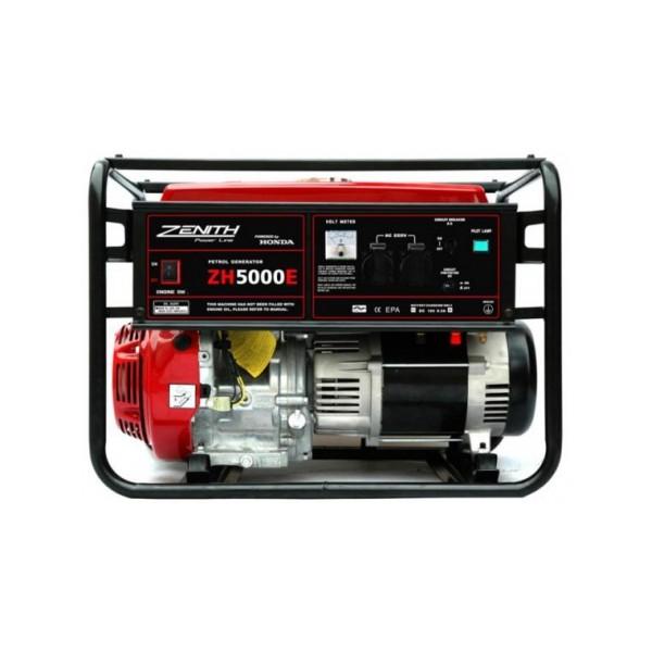 Генератор бензиновый ZENITH ZH5000Е  генератор бензиновый zenith zh7000 3